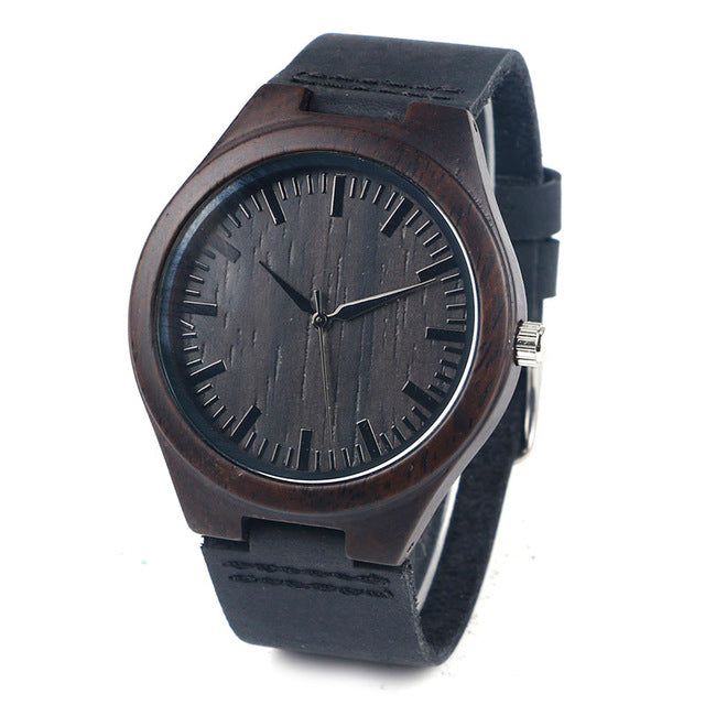 Montre Black Bambou