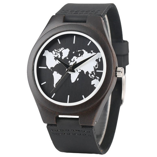 Montre World Bambou
