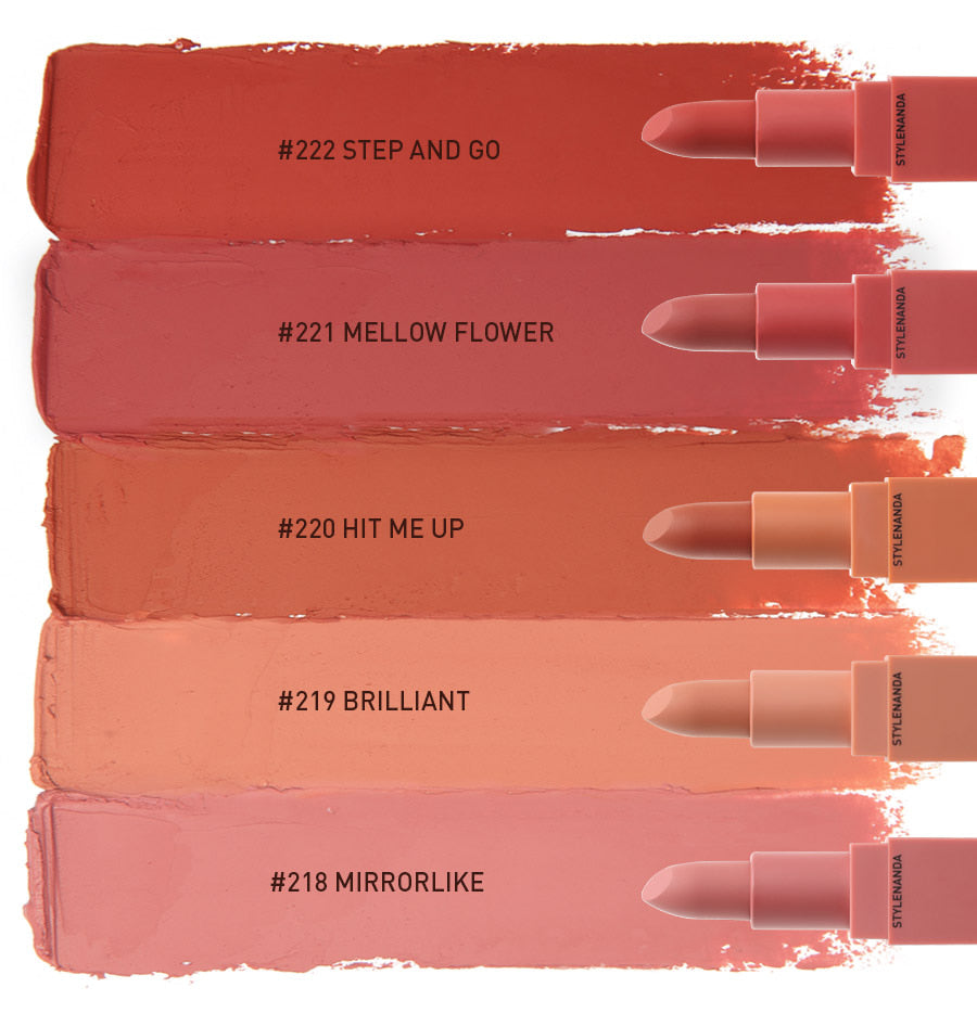 3CE Mood Recipe Matte Lip Color #221 MELLOW FLOWER
