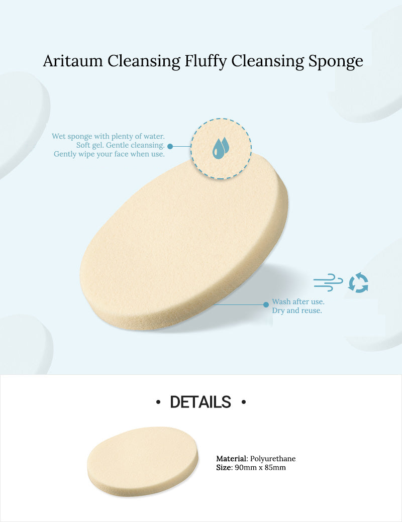 Aritaum Cleansing Fluffy Cleansing Sponge