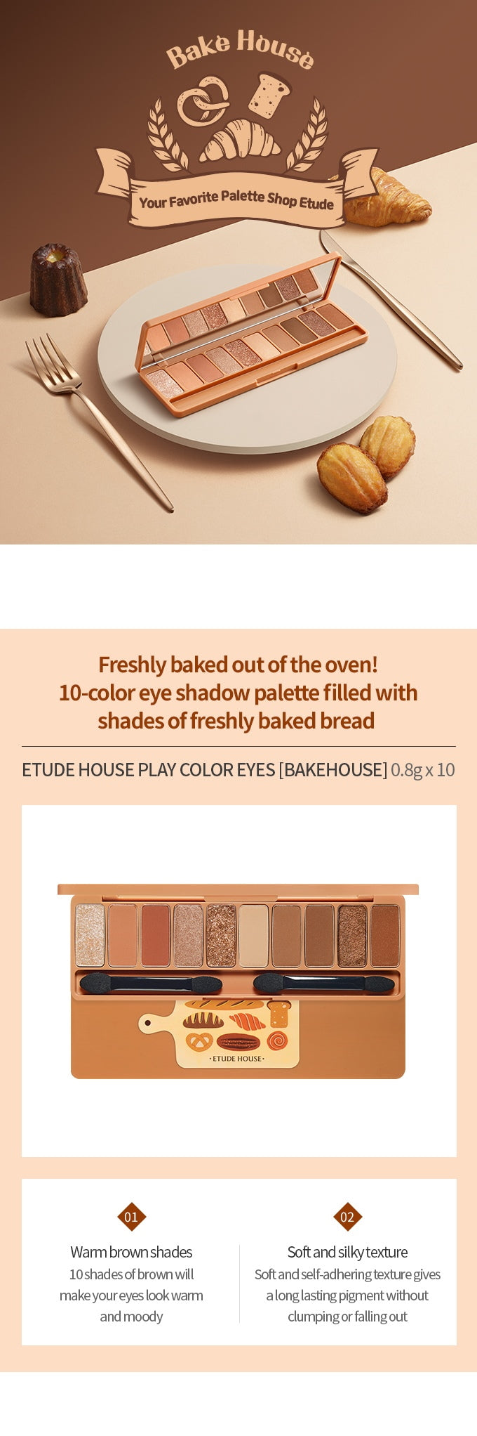 Etude House Play Color Eyes #BAKEHOUSE