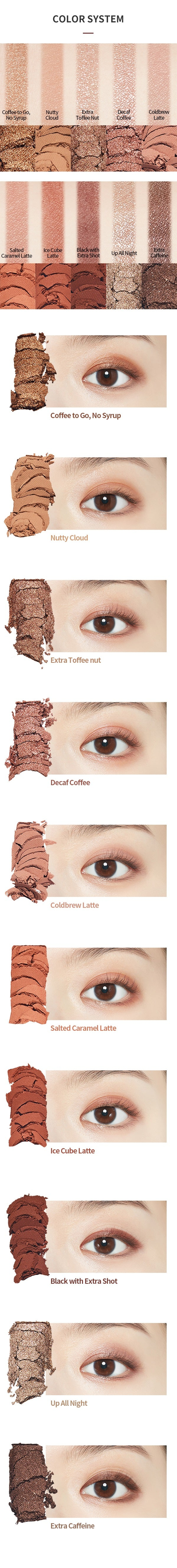 Etude House Play Color Eyes #CAFFEINE HOLIC