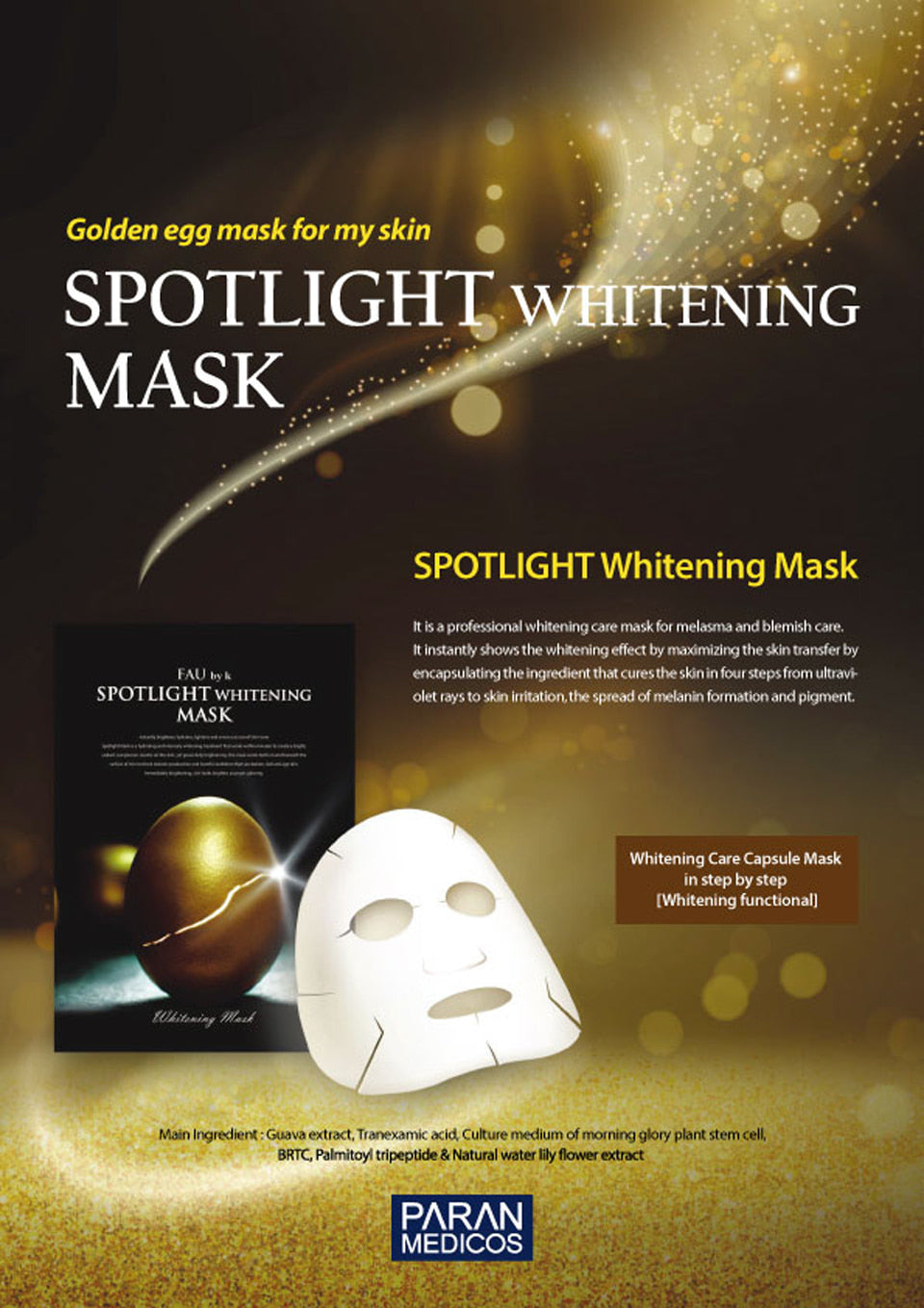 FAU Spotlight Whitening Mask 5 Sheets