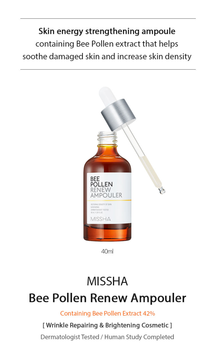 Missha Bee Pollen Renew Ampouler 40ml