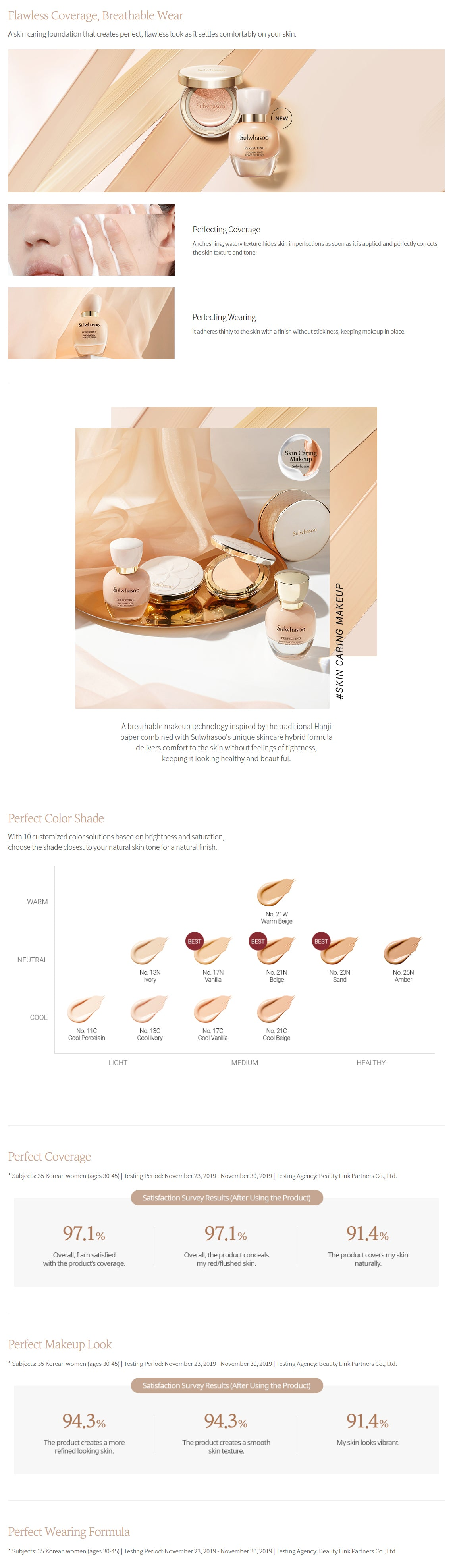 Sulwhasoo Perfecting Foundation 35ml