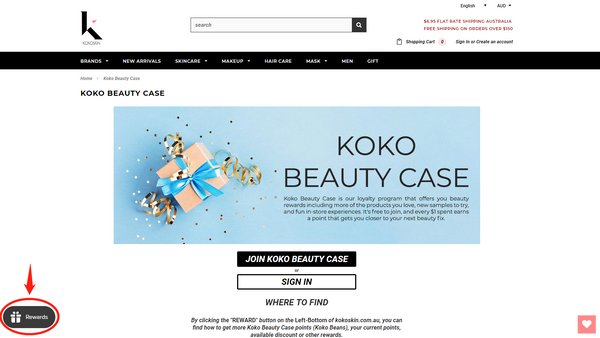 koko skin beauty case where to find 01