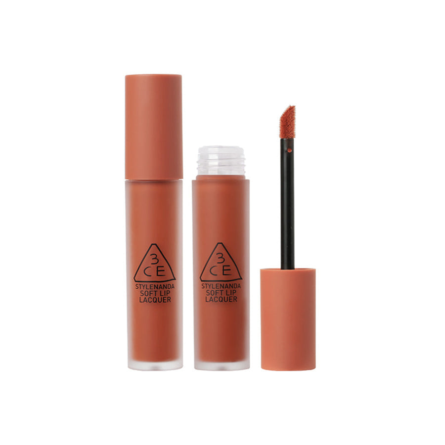 3CE Soft Lip Lacquer #TAWNY RED