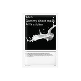 ABIB Gummy Sheet Mask Milk Sticker 10 Sheets (1 Box)