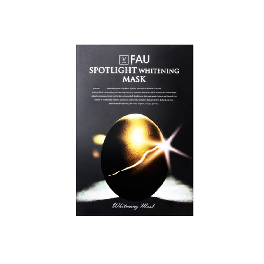 FAU Spotlight Whitening Mask 5 Sheets (1 Box)