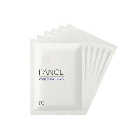 Fancl Whitening Mask 6 Sheets (1 Box)