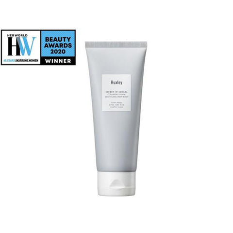 Huxley Cleansing Foam ; Deep Clean, Deep Moist 100g