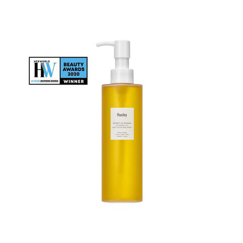 Huxley Cleansing Oil ; Deep Clean, Deep Moist 200ml