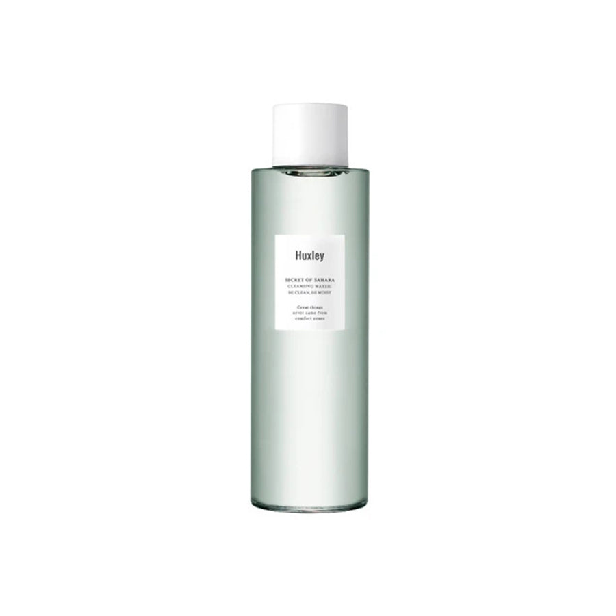 Huxley Cleansing Water ; Be Clean, Be Moist 200ml