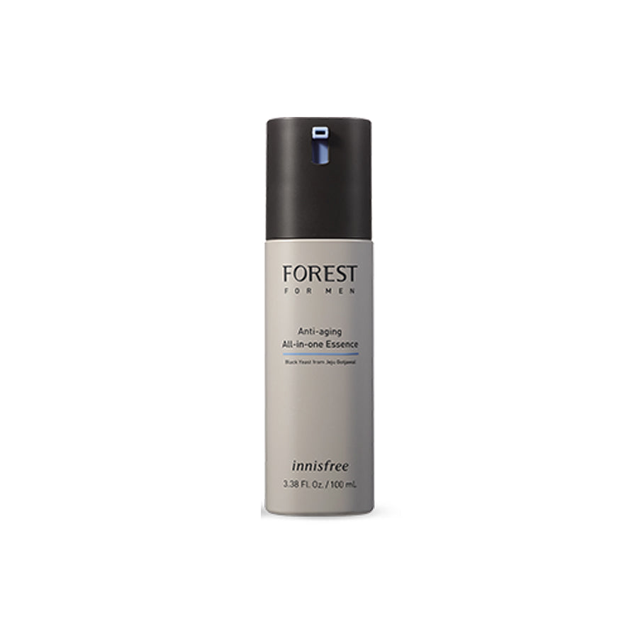 [Innisfree] Forest For Men Moisture All In One Essence 100ml #Anti-aging (New Packaging)