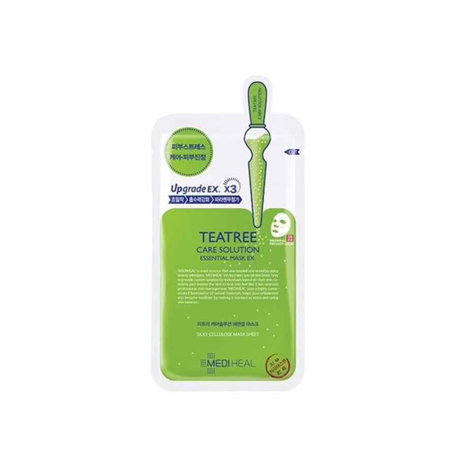 Mediheal Teatree Care Solution Essential Mask EX 10 Sheets (1 Box)