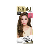 Mise en Scene Hello Bubble Foam Hair Color 7K Ash Khaki Brown