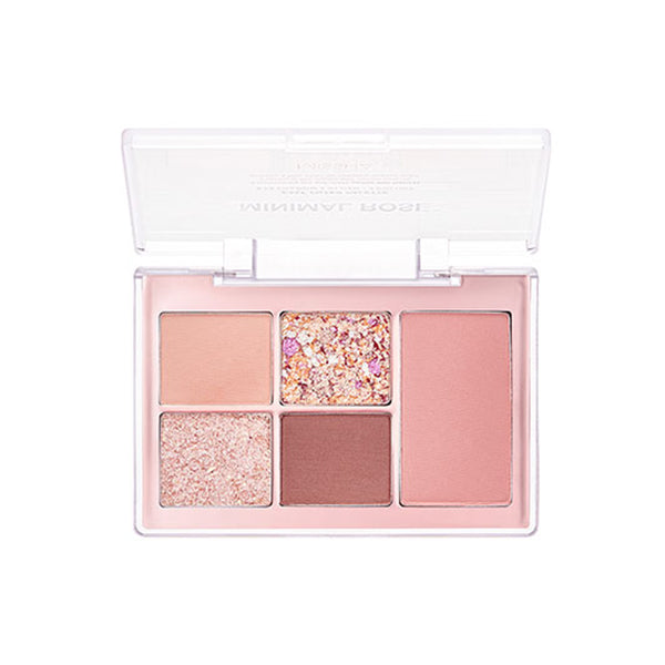 Missha Easy Filter Palette Eyeshadow & Blush / 5 Colors  #MINIMAL ROSE
