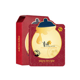 [Papa Recipe] Bombee Ginseng Red Honey Oil Mask 10 Sheets [1 BOX]