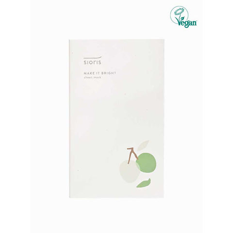 Sioris Make It Bright Sheet Mask 5 Sheets (1 Box)