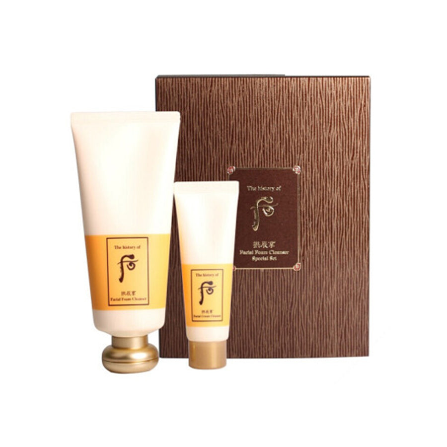 The History of Whoo Gongjinhyang Facial Foam Cleanser Special Set