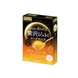Utena Premium Puresa Golden Gel Mask Royal Jelly 3 Sheets (1 Box)