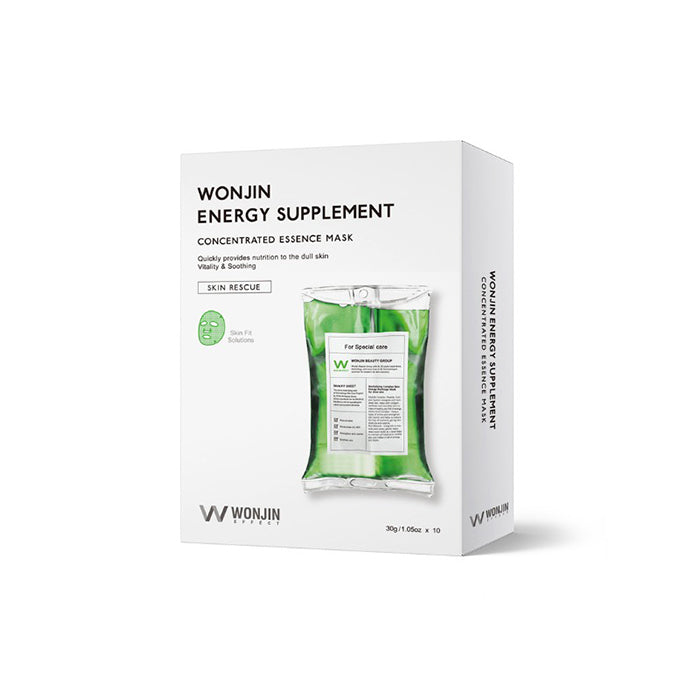 Wonjin Effect Energy Supplement Mask 10 Sheets (1 Box)