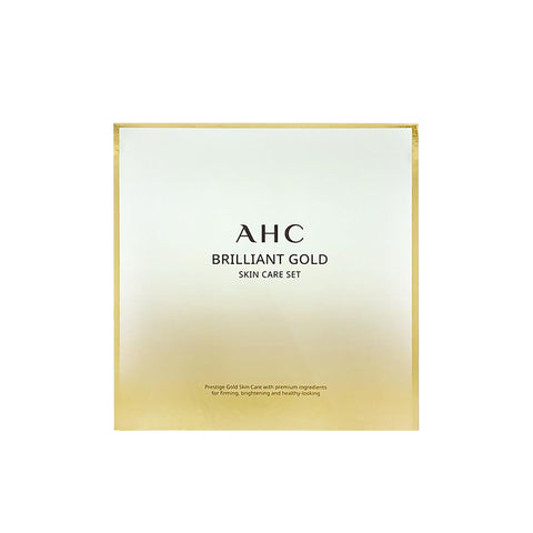 AHC Brilliant Gold Skin Care Set