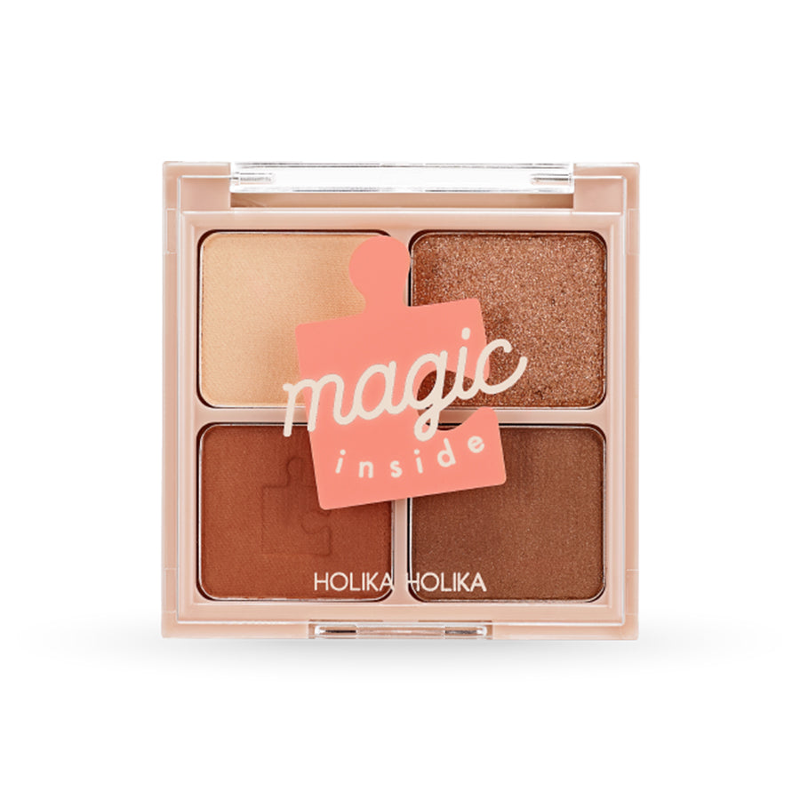 Holika Holika Piece Matching Shadow Palette #04 Orange Velvet