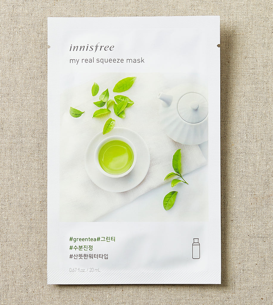 Innisfree My Real Squeeze Mask Green Tea