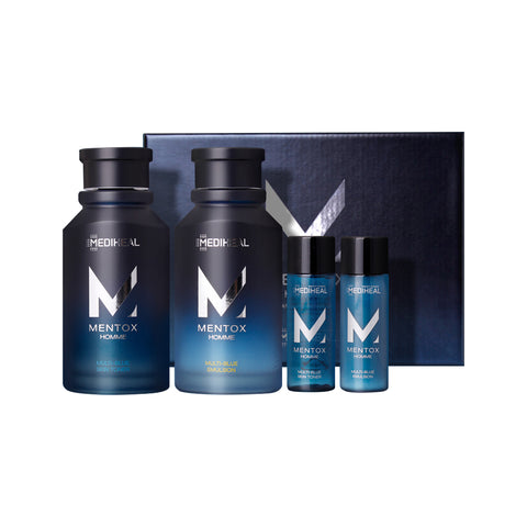 Mediheal MenTox Homme Multi-Blue Skin Care Set