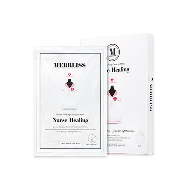 Merbliss Nurse Healing Intense Soothing Gauze Seal Mask