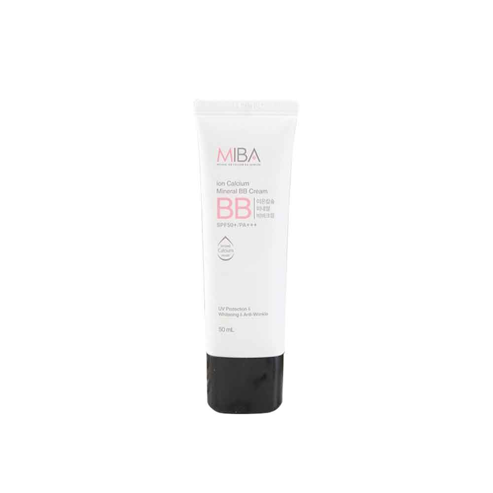 MIBA ion Calcium Mineral BB Cream SPF50/PA+++ 50ml