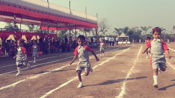 The First Annual Sports Day at Sadhu Vaswani Gurukul, Manjri