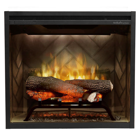 Dimplex Revillusion® 24-Inch Built-In Electric Fireplace - RBF24DLX