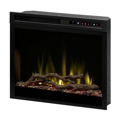 "Image of Dimplex 28"" Multi-Fire XHD Electric Fireplace Insert - Driftwood / Glass - DF28DWC-PRO"