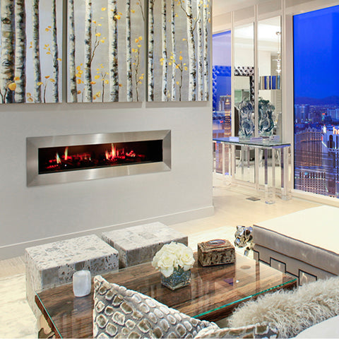 Image of Dimplex Opti-V Duet Built In Electric Fireplace - VF5452L