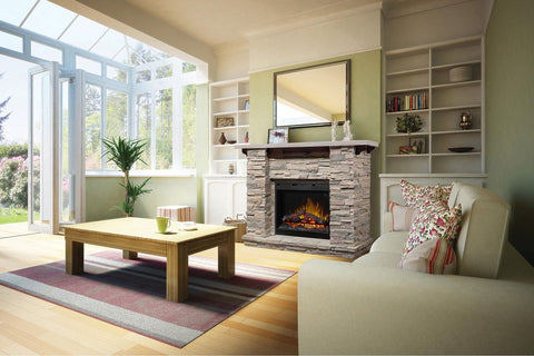 Image of Dimplex Featherston Electric Fireplace Mantel Package - GDS26L5-1152LR