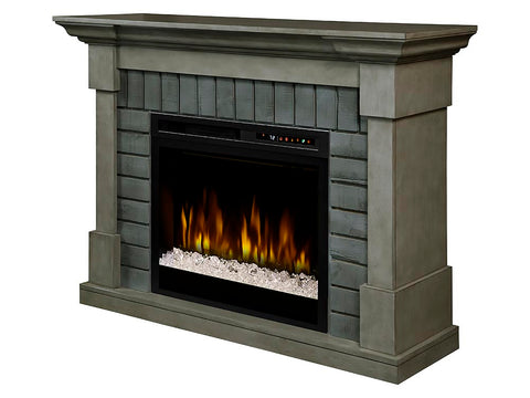 Dimplex Royce Electric Fireplace Mantel With Glass Ember Bed - GDS28G8-1924SK