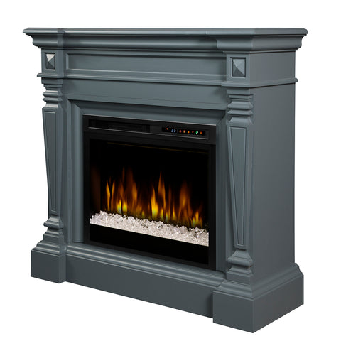 Dimplex Heather Electric Fireplace Mantel With Glass Ember Bed - GDS28G8-1941WE