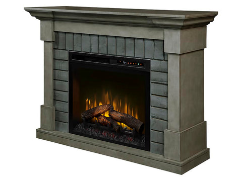 Dimplex Royce Electric Fireplace Mantel With Logs - GDS28L8-1924SK