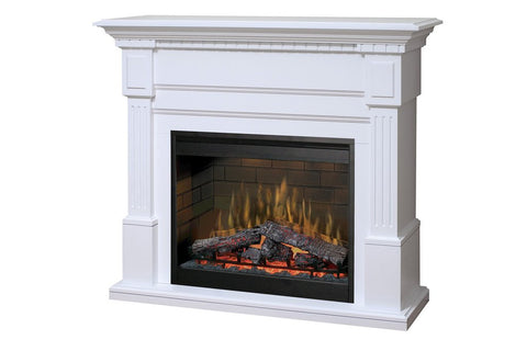 Dimplex Essex Electric Fireplace Mantel Package - White - GDS30L3-1086W