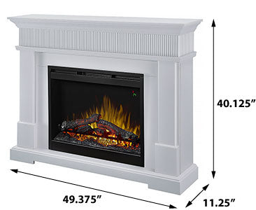 Dimplex Jean Electric Fireplace Mantel - GDS26L5-1802W