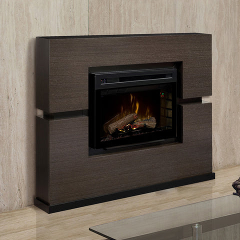 Dimplex Linwood Mantel Electric Fireplace With Logs - GDS33HL-1310RG