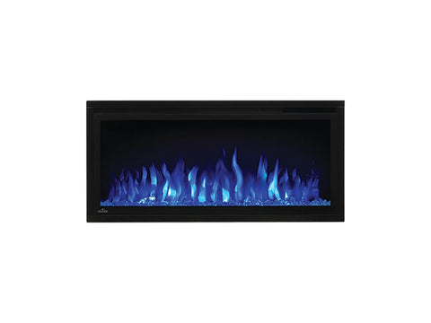 "Image of Napoleon Entice 36"" Linear Wall Mount Electric Fireplace - NEFL36CFH"