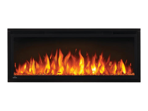 "Image of Napoleon Entice 42"" Linear Wall Mount Electric Fireplace - NEFL42CFH"