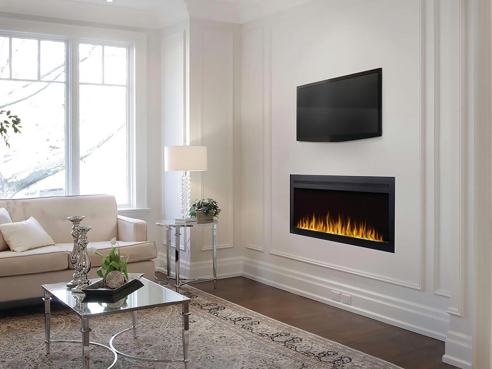 "Napoleon PurView 50"" Wall Mount Electric Fireplace - NEFL50HI"