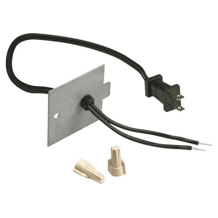 Dimplex Plug Conversion Kit for BF33, BF39, BF45 Electric Fireplace Inserts