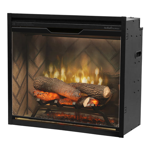 Image of Dimplex Revillusion® 24-Inch Built-In Electric Fireplace - RBF24DLX