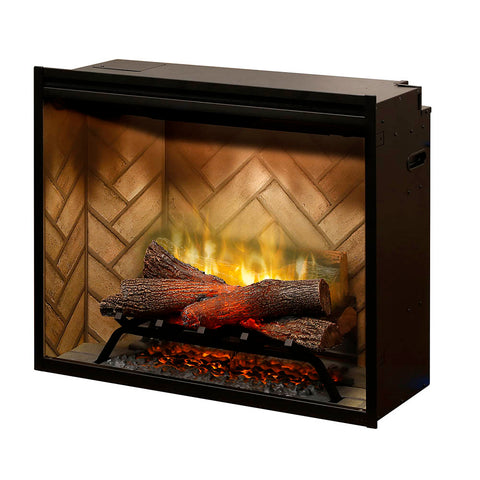 Dimplex Revillusion® 30-Inch Built-In Electric Fireplace - RBF30 - Electric Fireplace - Dimplex - ElectricFireplacesPlus.com