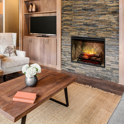Image of Dimplex Revillusion® 36-Inch Built-In Electric Fireplace - RBF36 - Electric Fireplace - Dimplex - ElectricFireplacesPlus.com
